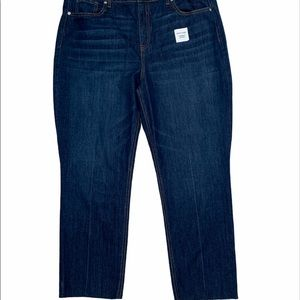 "Old Navy ""The Power Jean"" Straight Ankle Jeans 16"